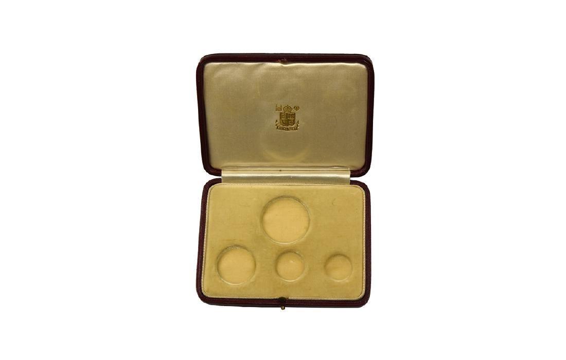George VI - 1937 - Royal Mint Proof Gold Case
