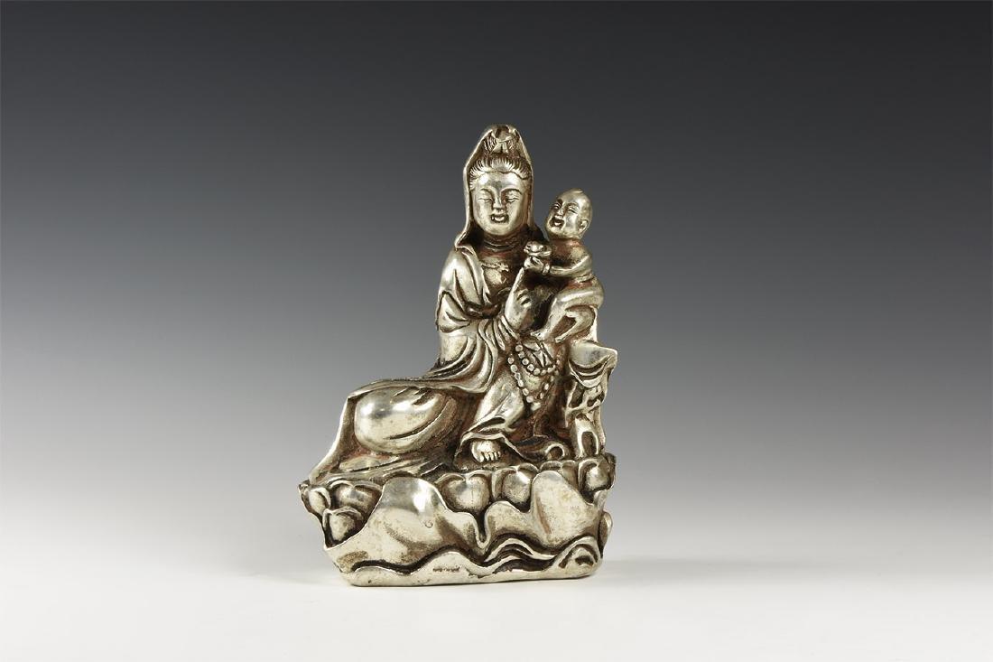 Chinese Kwan Yin with Child