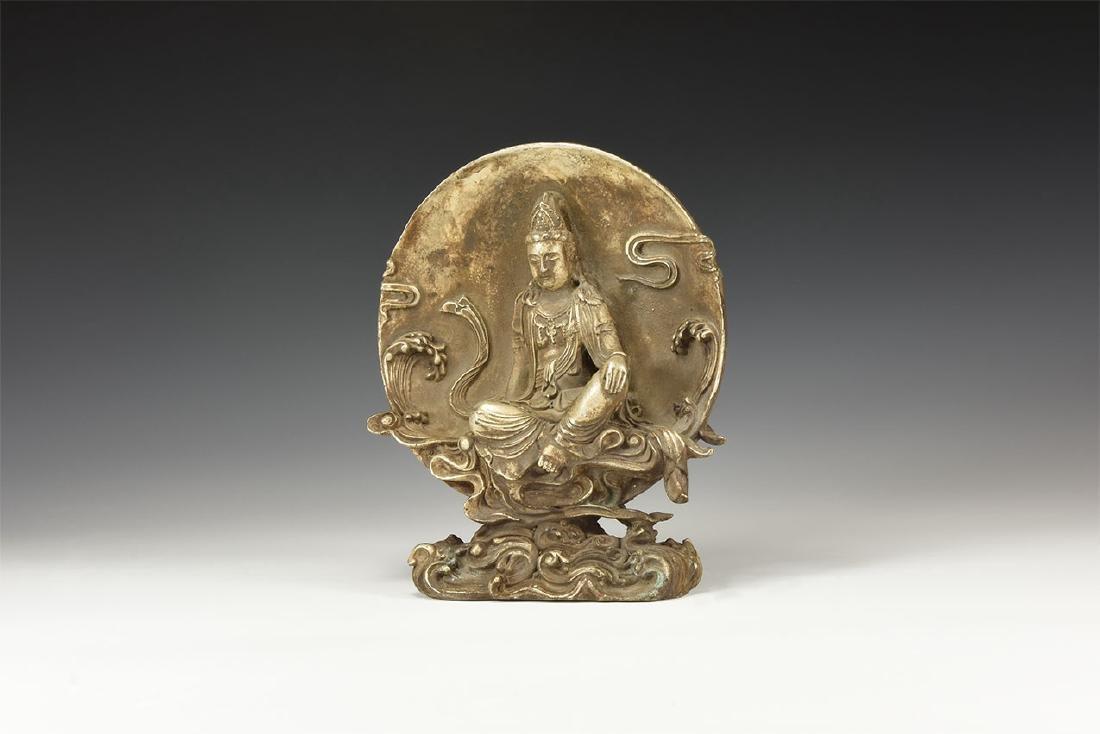Chinese Seated Kwan Yin