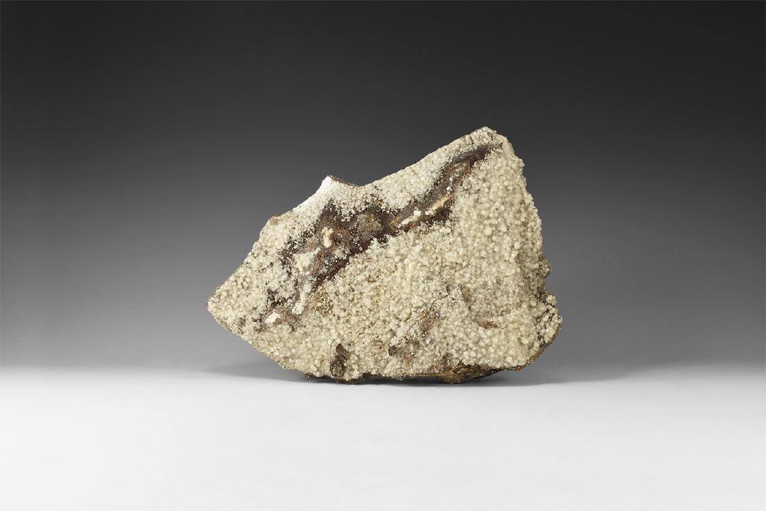 Natural History Calcite on Matrix Mineral Specimen