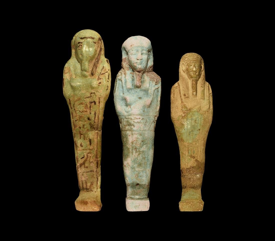 Egyptian Shabti Group