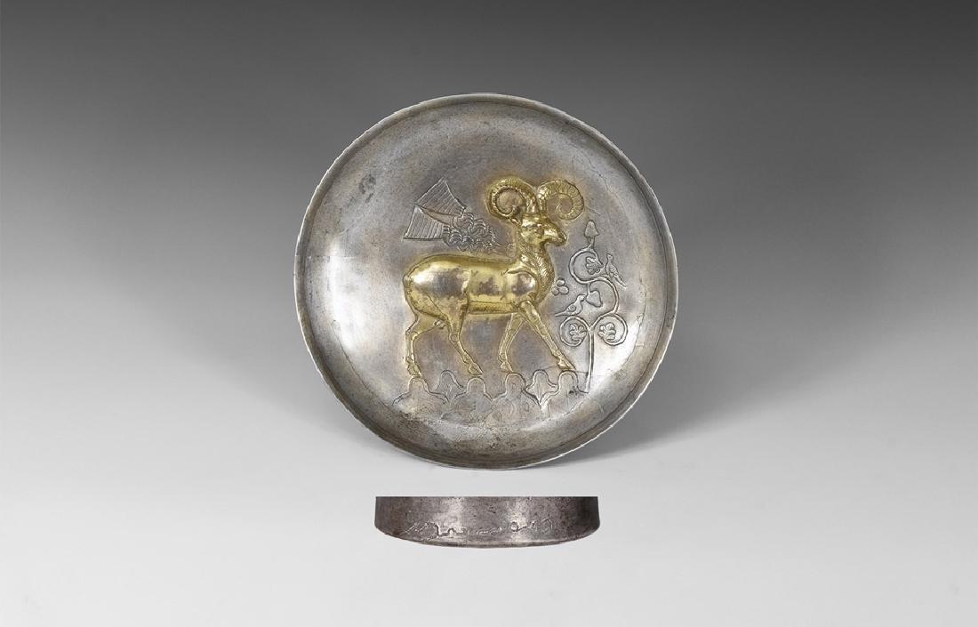 Sassanian Masterpiece Bowl with Ibex