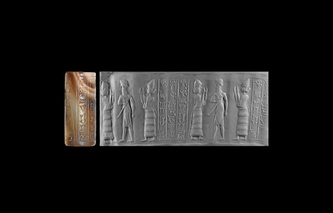 Babylonian Seal for Kings Rin-Sin & Shu-ilishtu