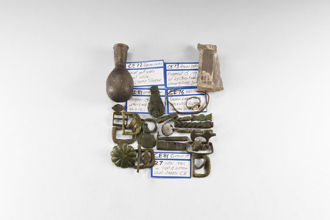 Bronze Age to Post Medieval Artefact Collection