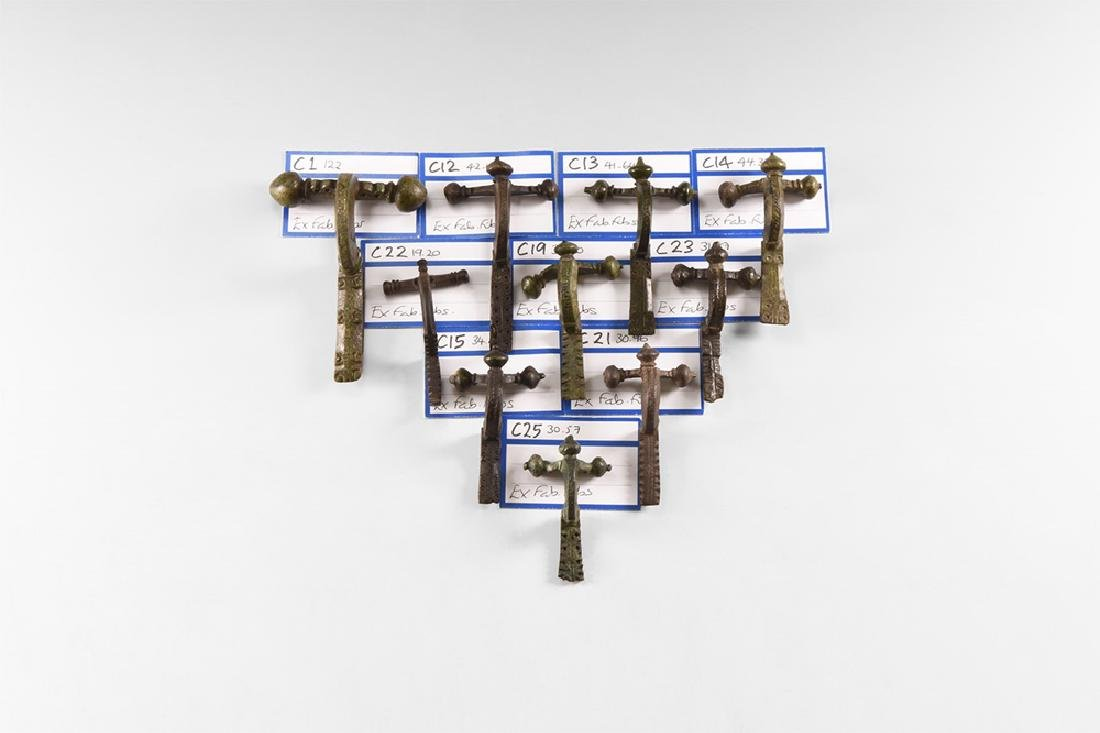 Roman Crossbow Brooch Collection