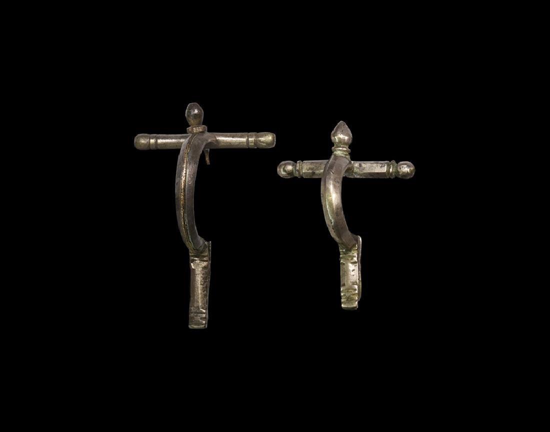 Roman Crossbow Brooch Group