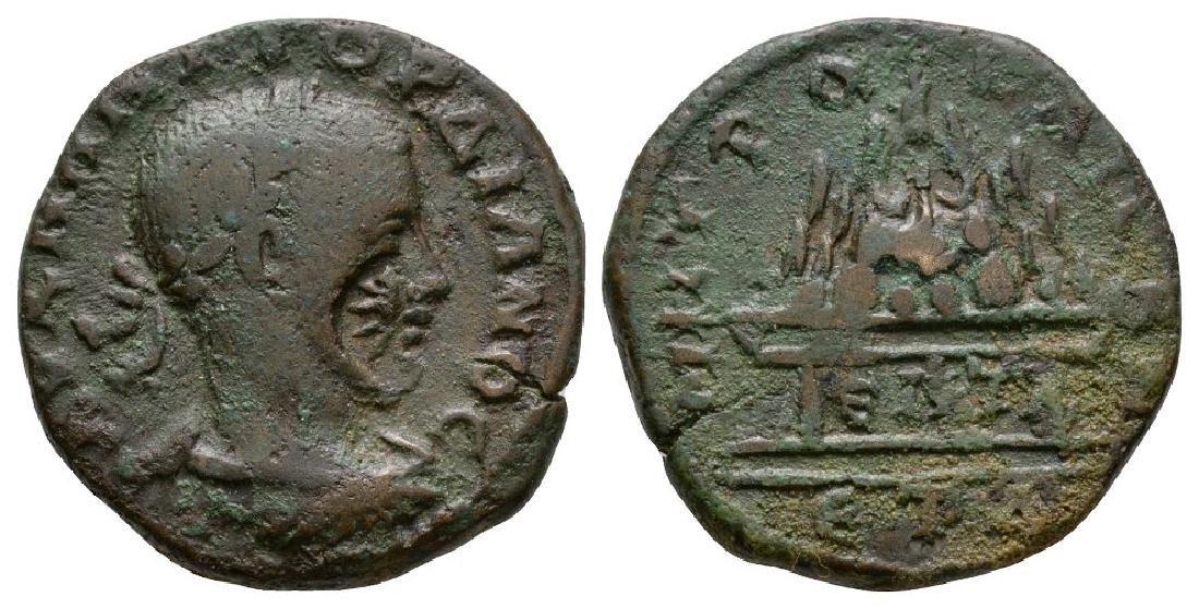 Gordian III - C/M - Caesarea - Mount Argaeus AE