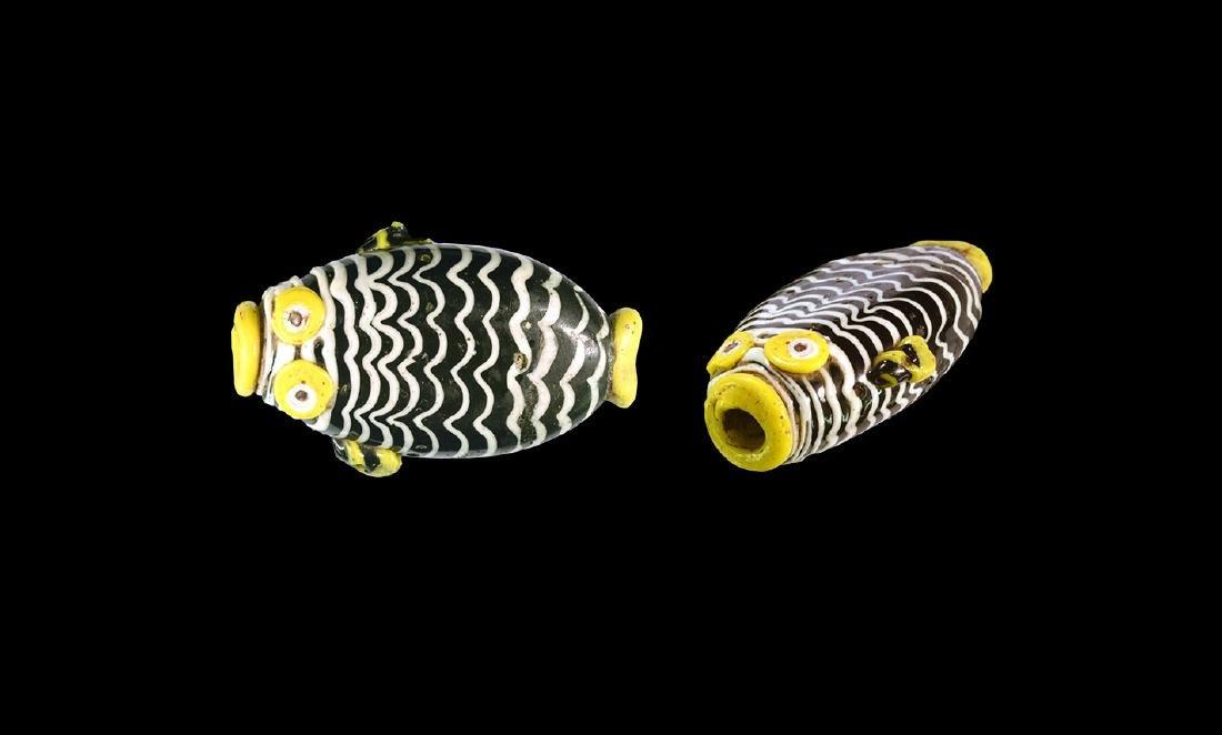 Phoenician Mosaic Glass Fish