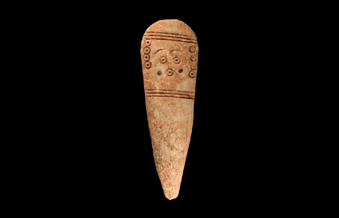 Egyptian Coptic Bone Idol