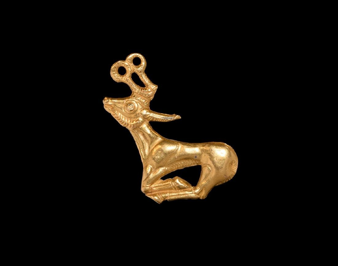 Scythian Gold Antelope Appliqué