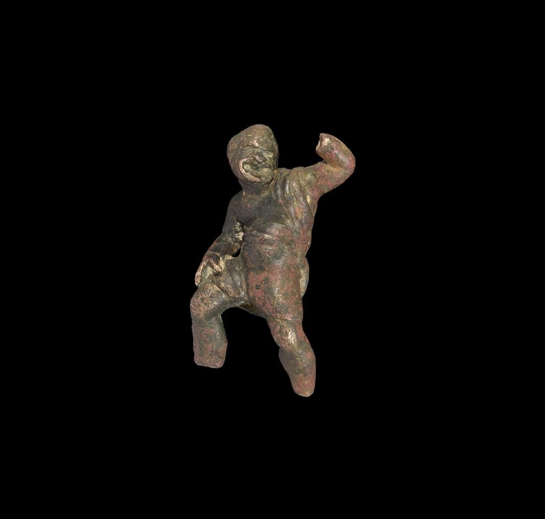 Hellenistic Comedy Actor Statuette