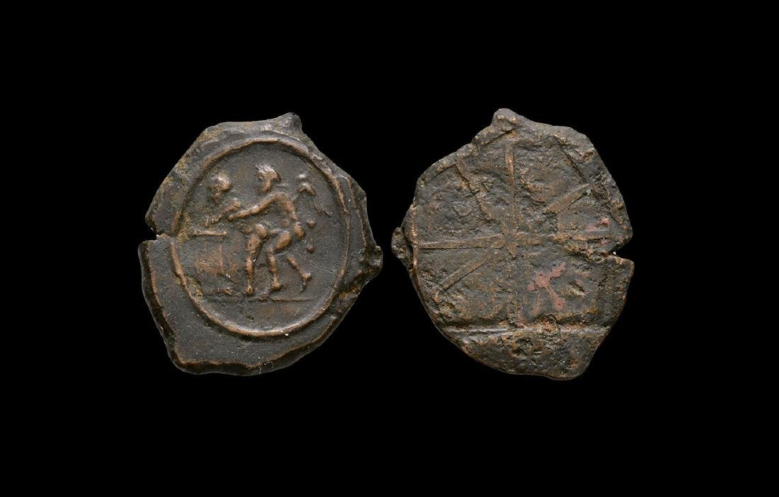 Roman Spintria Erotic Brothel Token