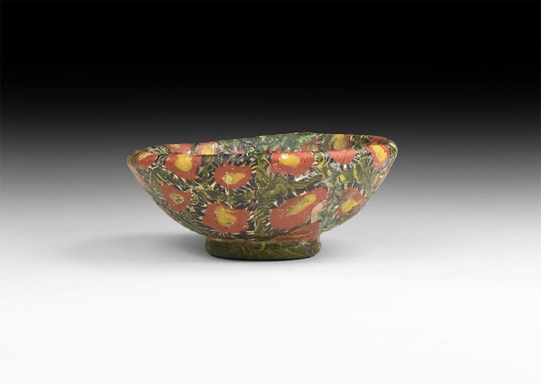 Roman Mosaic Glass Dish