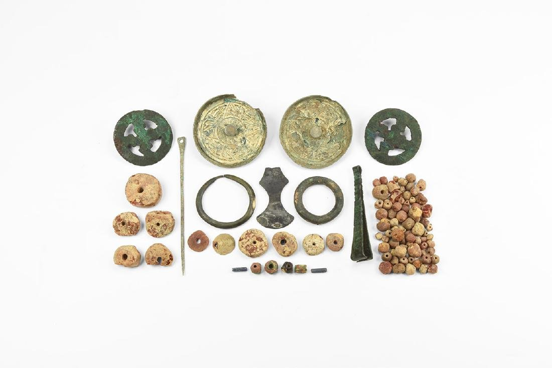 Anglo-Saxon Female Grave Assemblage