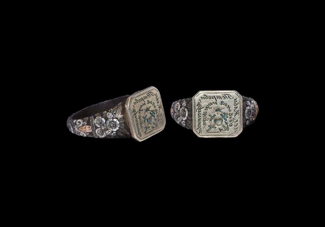 Post Medieval Silver Signet Ring