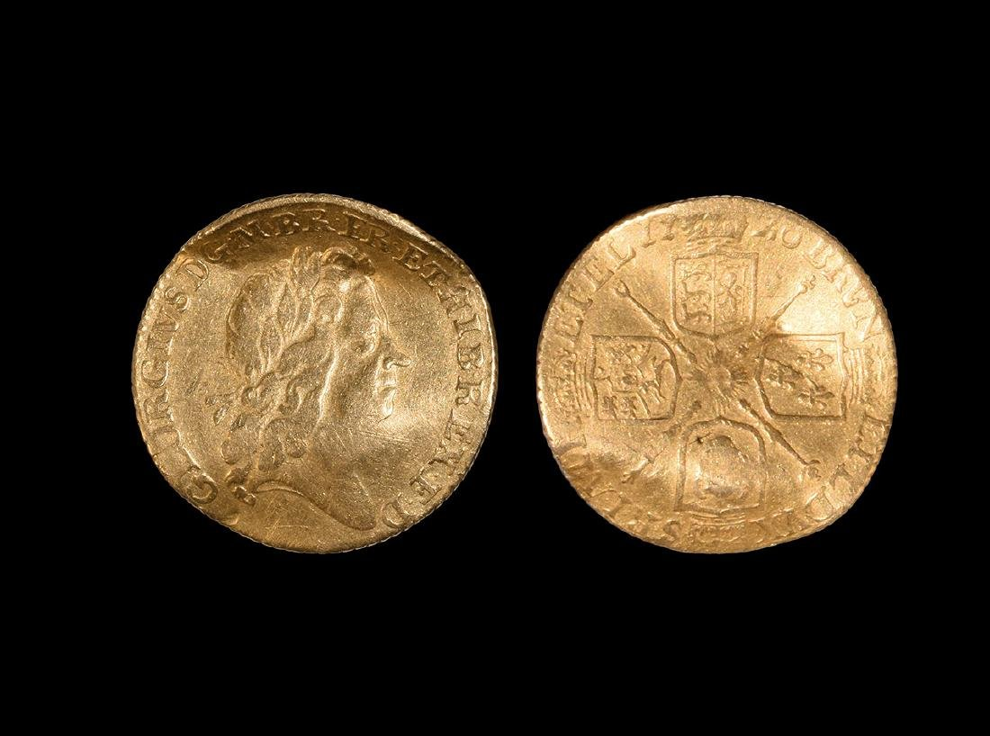 Gold George I S-Shaped Love Token