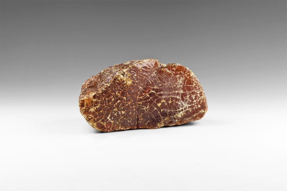 Large Natural Baltic Amber Specimen