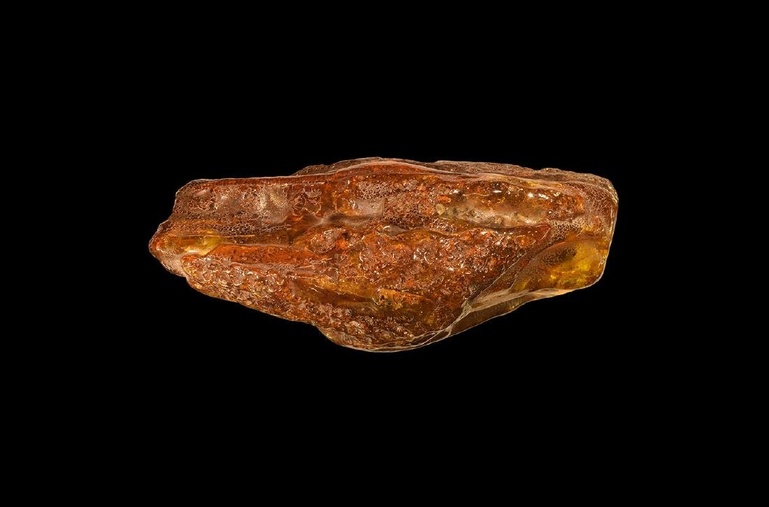 Large Amber Block with Inclusions