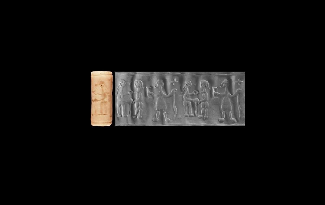 Jemdet Nasr Cylinder Seal with Figures