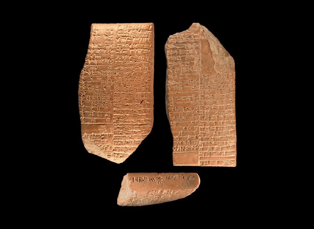 Sumerian Silver Merchant's Cuneiform Tablet