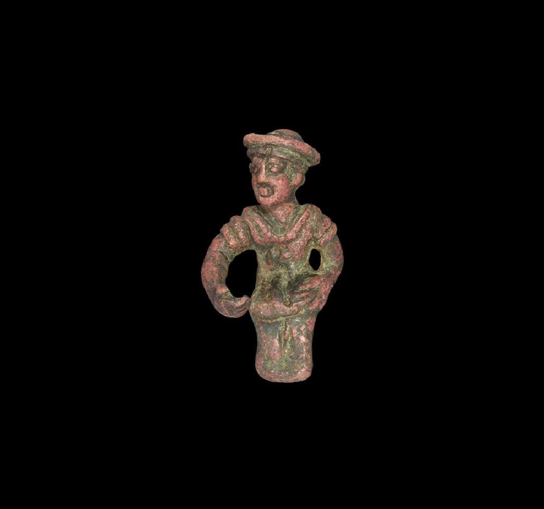 Western Asiatic Levantine Sitting Statuette