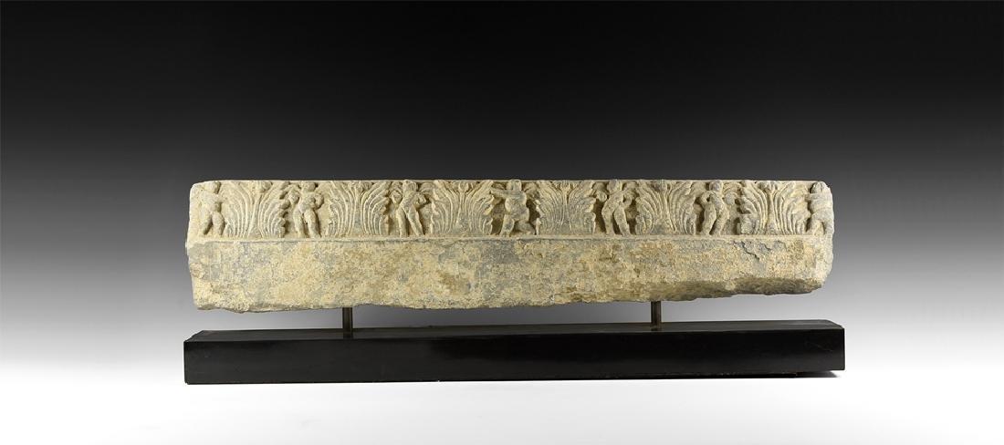 Gandharan Large Frieze Panel