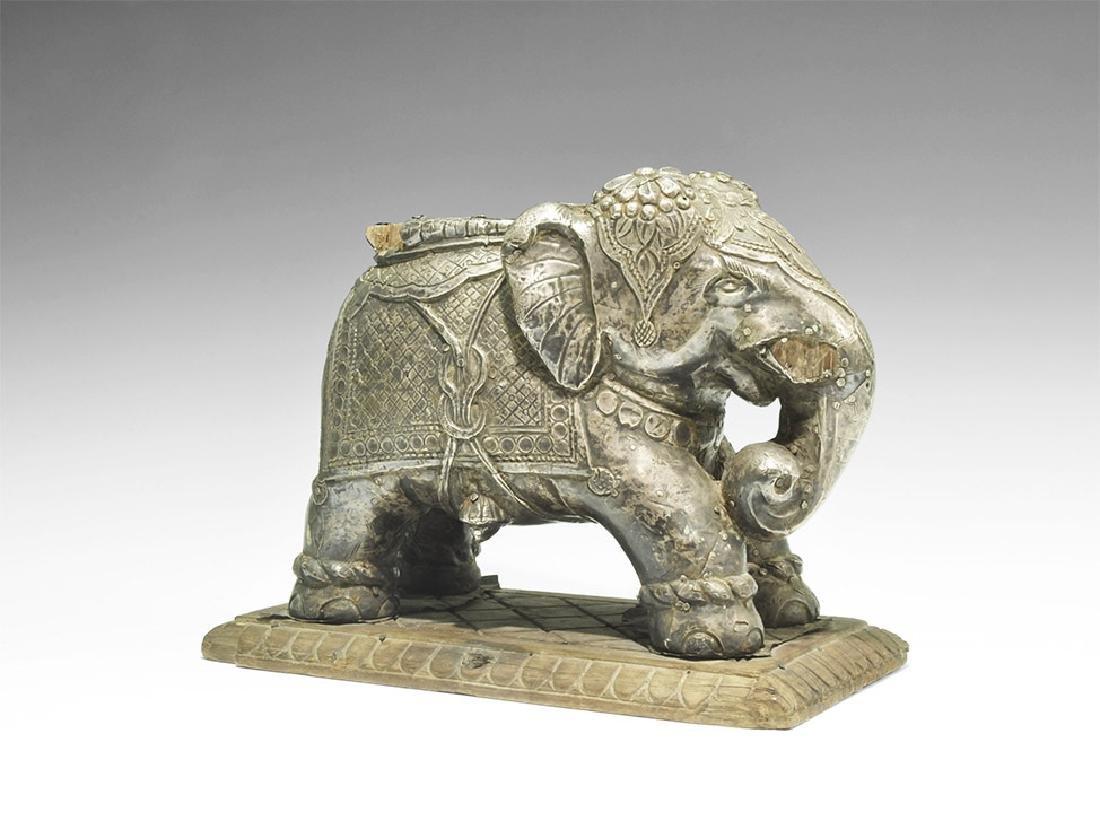 Indian Elephant Statuette