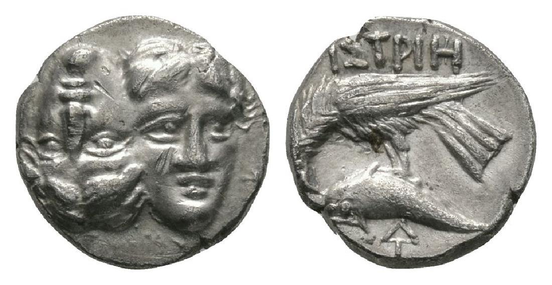 Istros - Eagle and Dolphin Stater