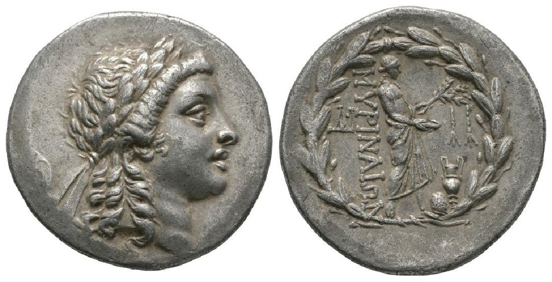 Myrina - Aeolis - Apollo Tetradrachm
