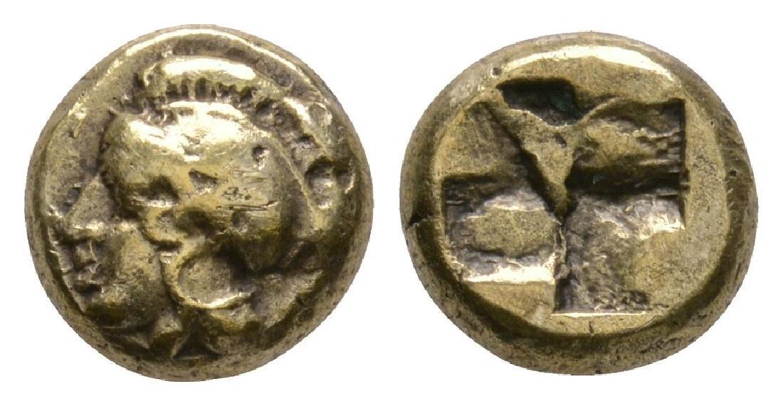 Ionia - Civic - Athena Electrum Gold Hekte
