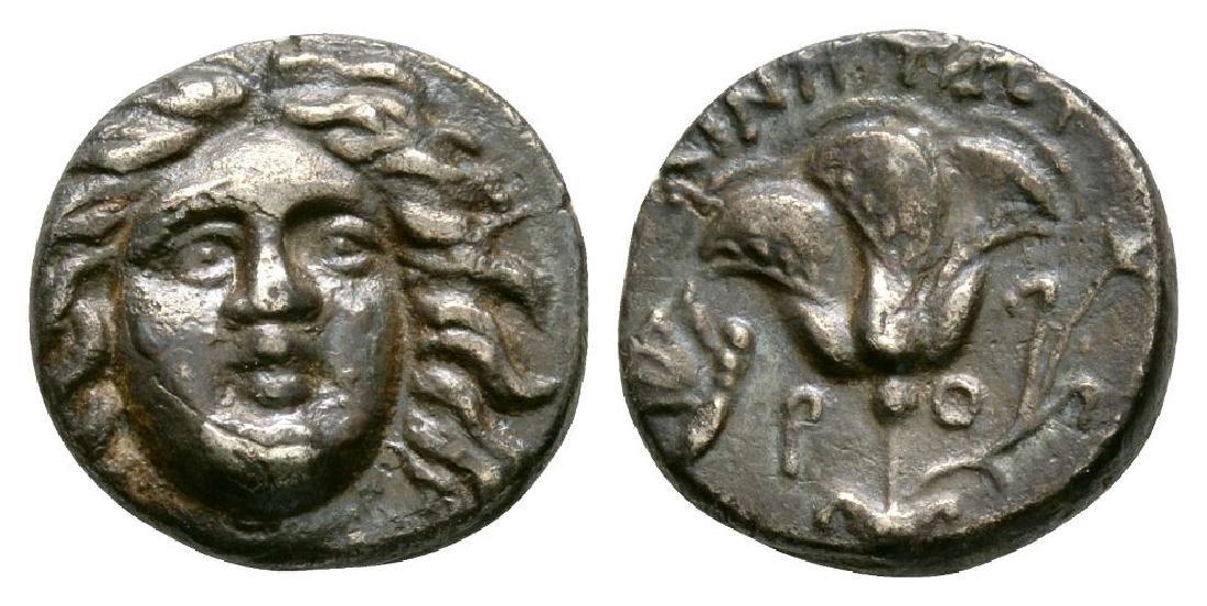 Ancient Greek Coins - Rhodes - Rose Drachm