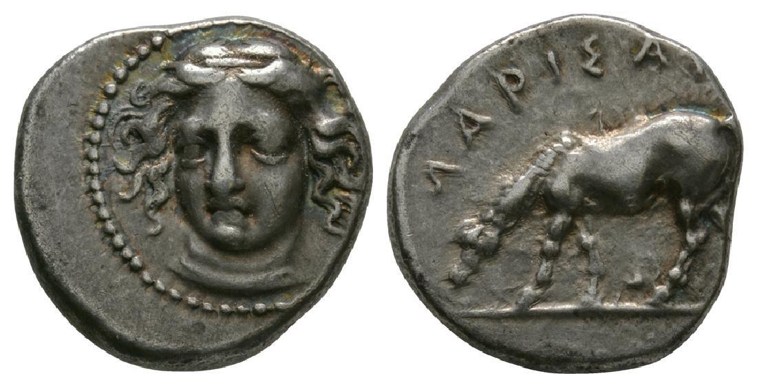 Thessaly - Larissa - Horse Grazing Drachm