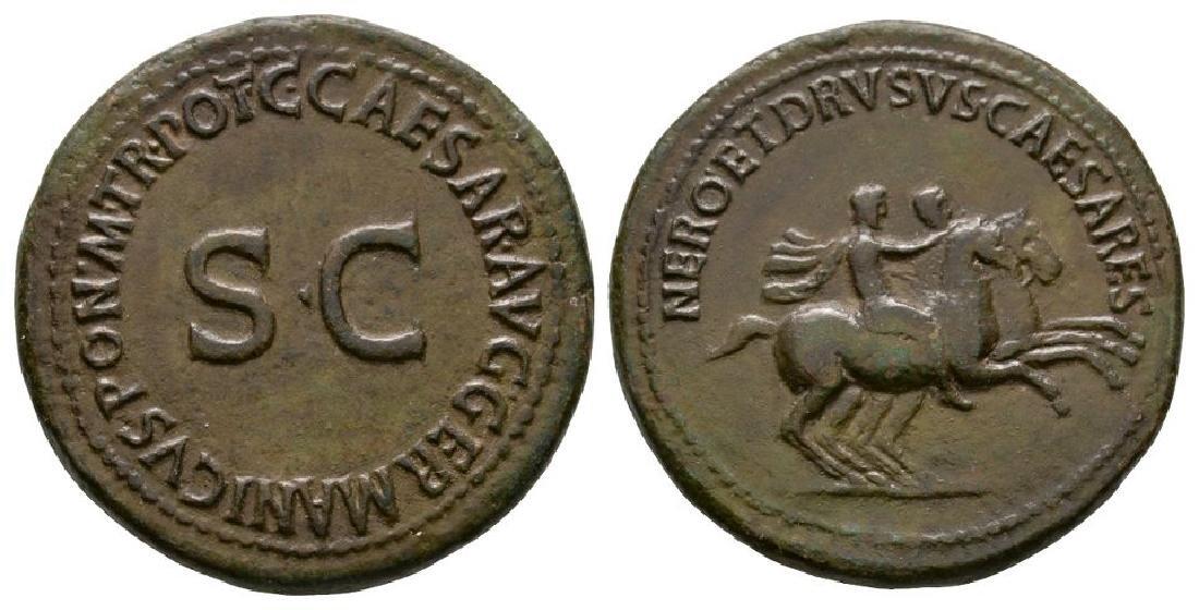 Nero and Drusus Caligula) - Brothers Dupondius