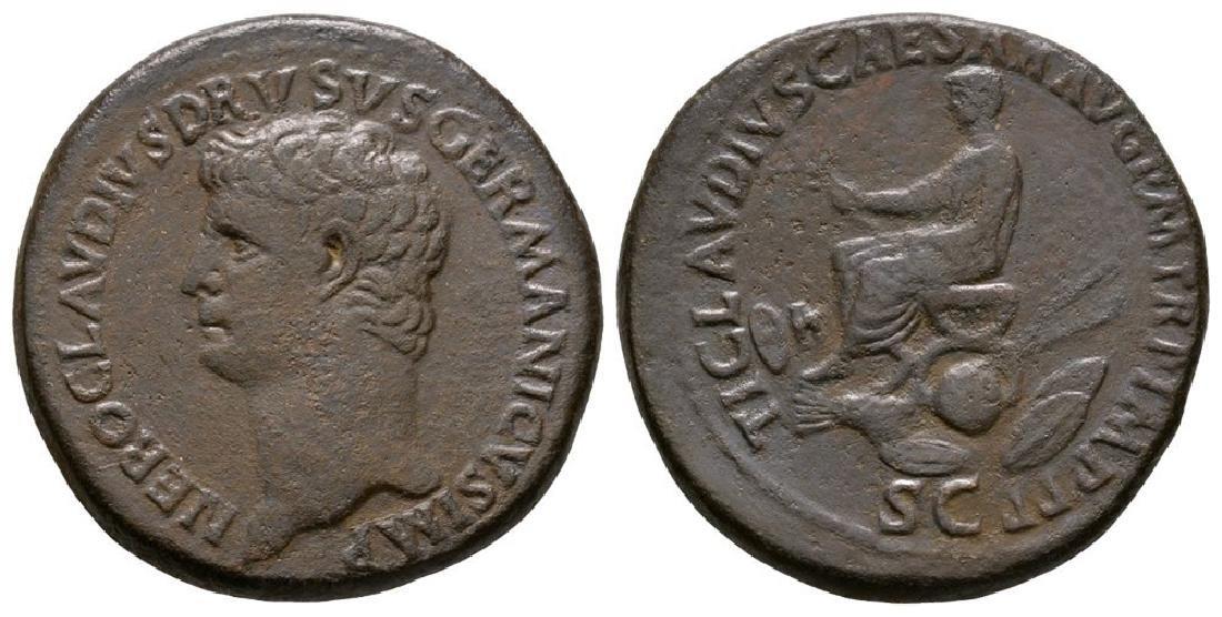 Nero Claudius Drusus - Drusus Sestertius