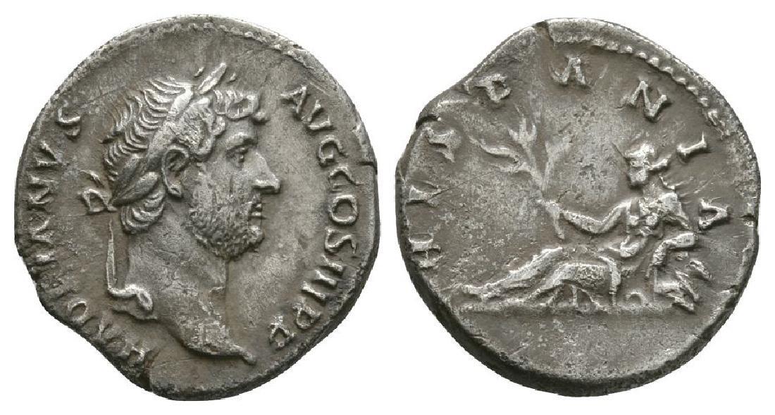 Hadrian - Hispania Denarius