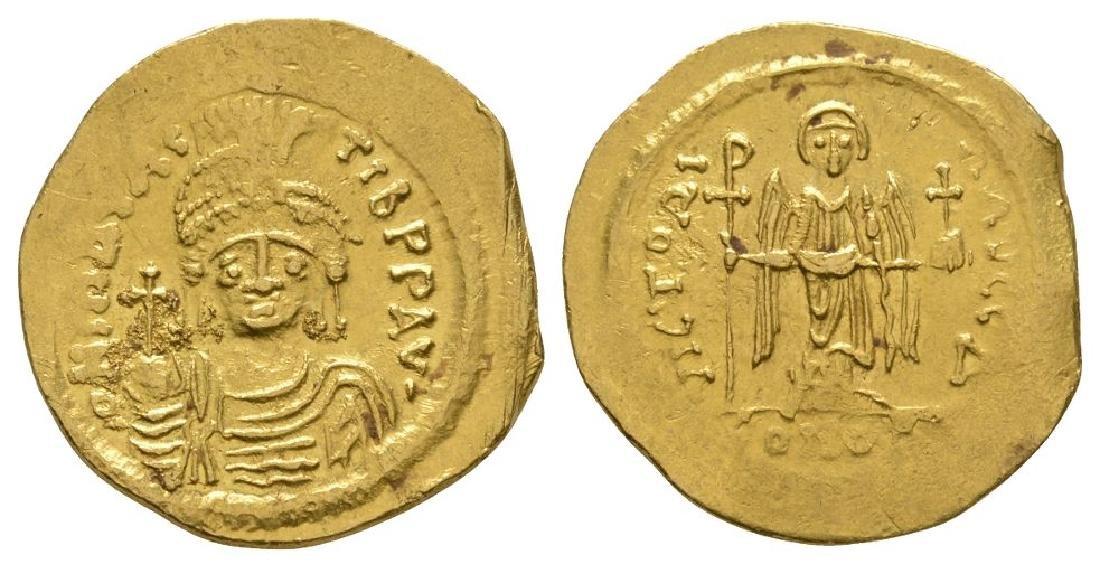 Maurice Tiberius - Angel Gold Solidus