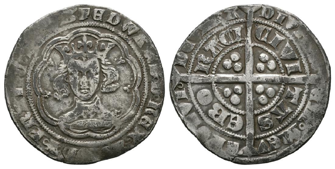 Edward III - York - Pre Treaty Groat