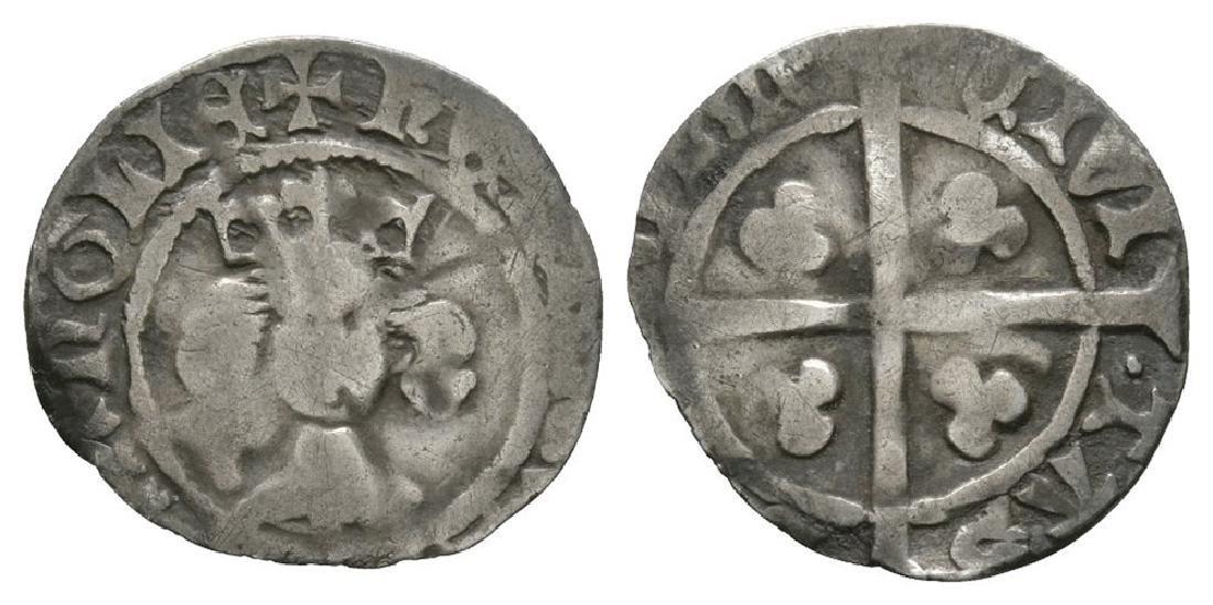 Henry IV - Durham - Long Cross Penny
