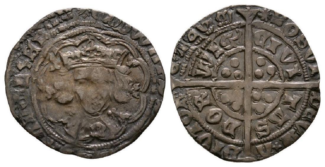 Edward IV - Norwich - 'Abp Sharp' Groat