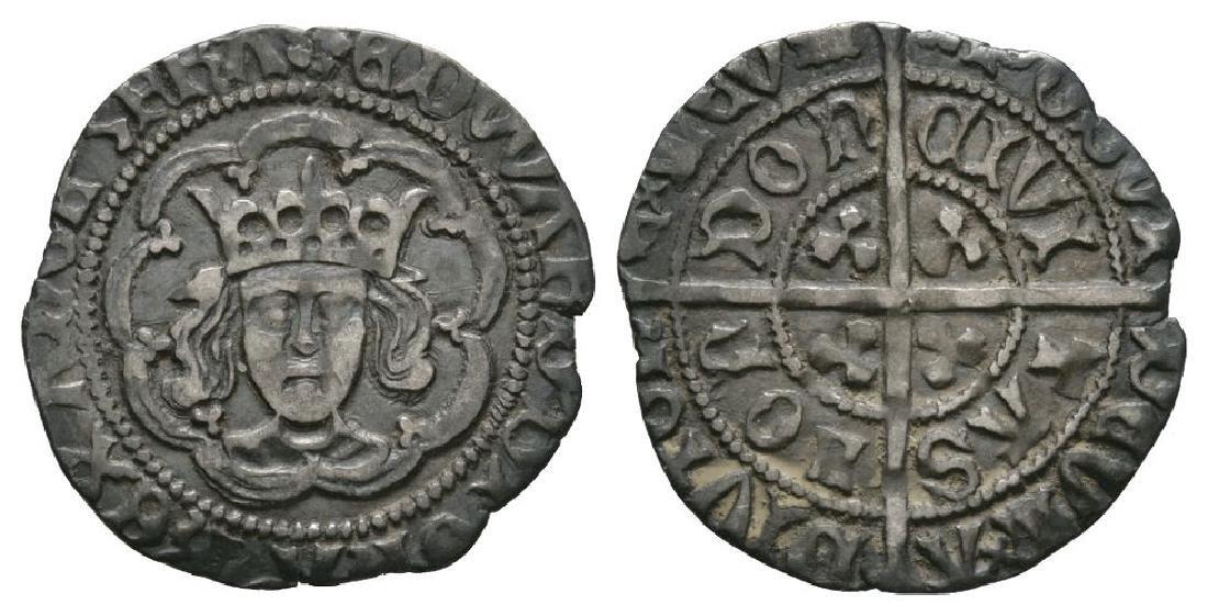 Edward IV - London - 'Abp Sharp' Halfgroat