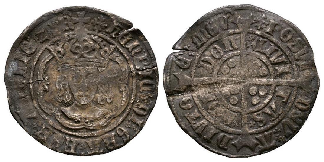 Henry VII - London - 'Abp Sharp' Facing Groat