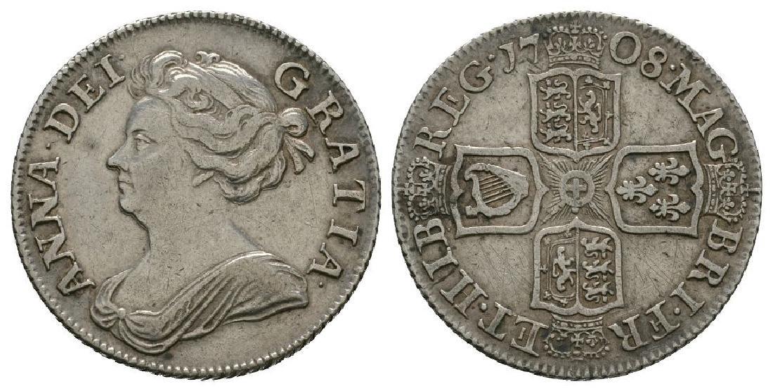 Anne - 1708 - Shilling