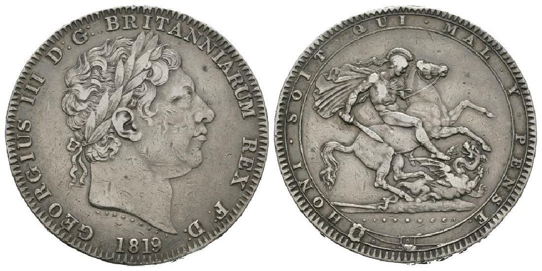 George III - 1819 LX - Crown