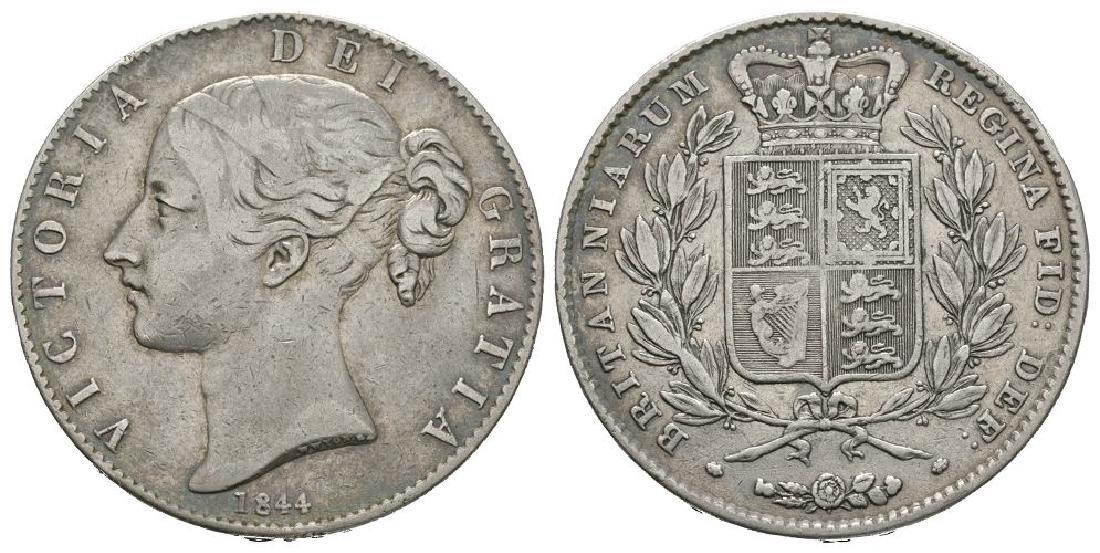 Victoria - 1844 VIII - Crown