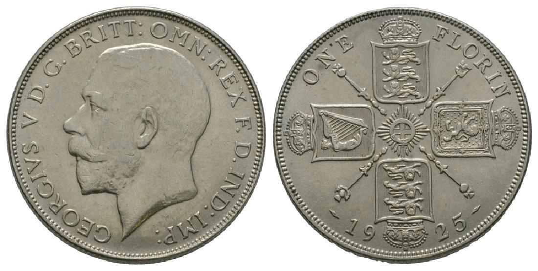 George V - 1925 - Florin