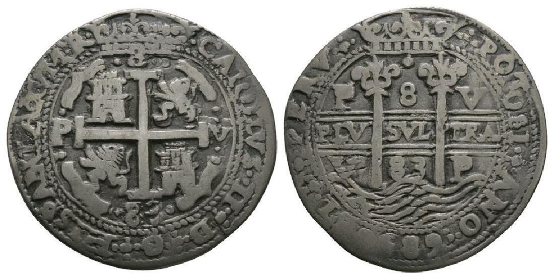 Bolivia - Charles II - 1683 - 8 Reales