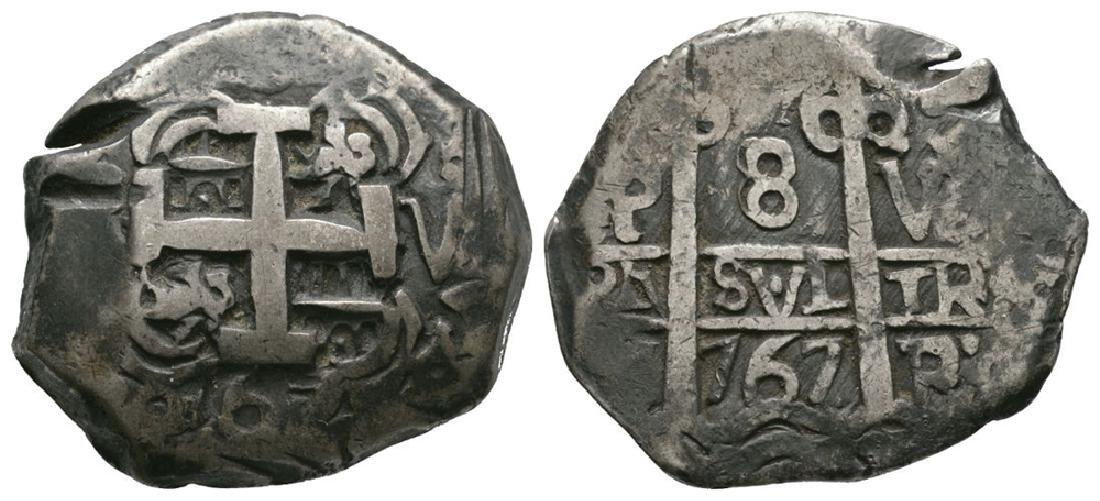 Bolivia - 1767 - Cob 8 Reales