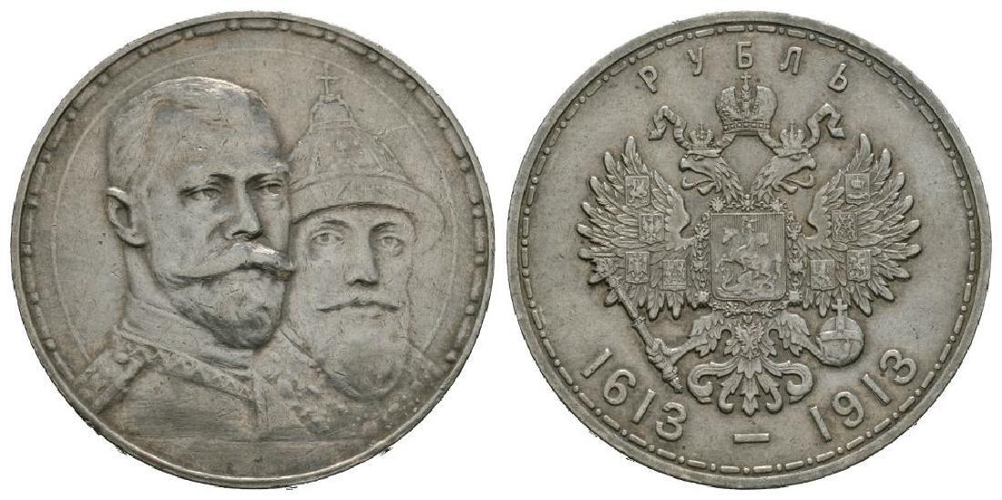 Russia - 1913 - 300th Anniversary Rouble