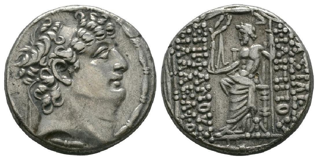 Seleukid - Philip P - Zeus Tetradrachm