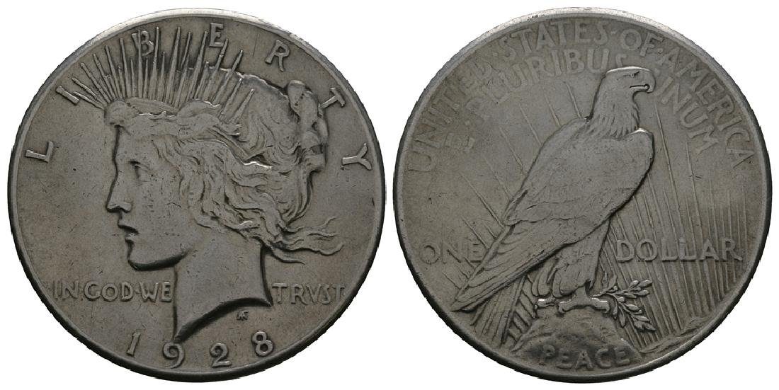 USA - 1928 - Peace Dollar